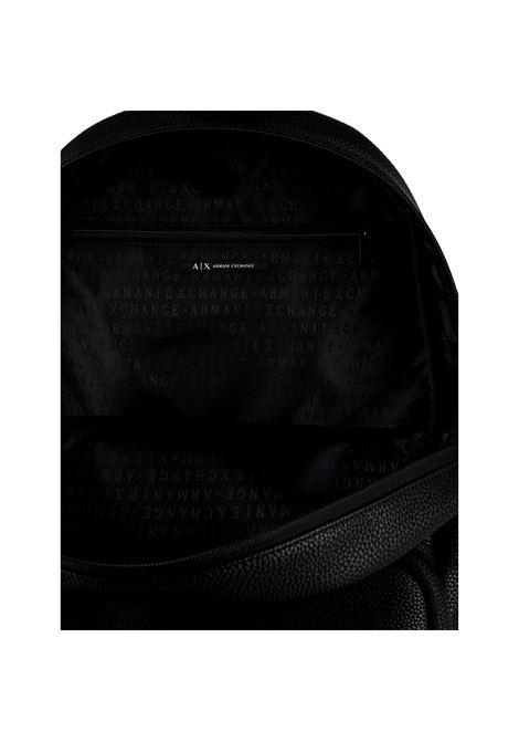 Backpack with tone-on-tone logo ARMANI EXCHANGE |  | 952067 CC35256620