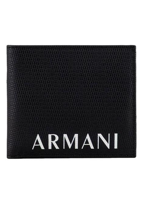 Portafoglio con logo ARMANI EXCHANGE | Portafogli | 958058 1A80700020