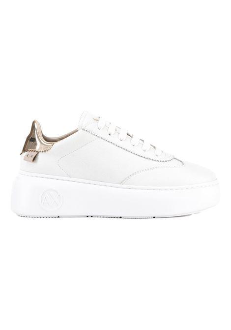 Sneakers con suola logata e retro metallizzato ARMANI EXCHANGE | Sneakers | XDX042 XV338K659