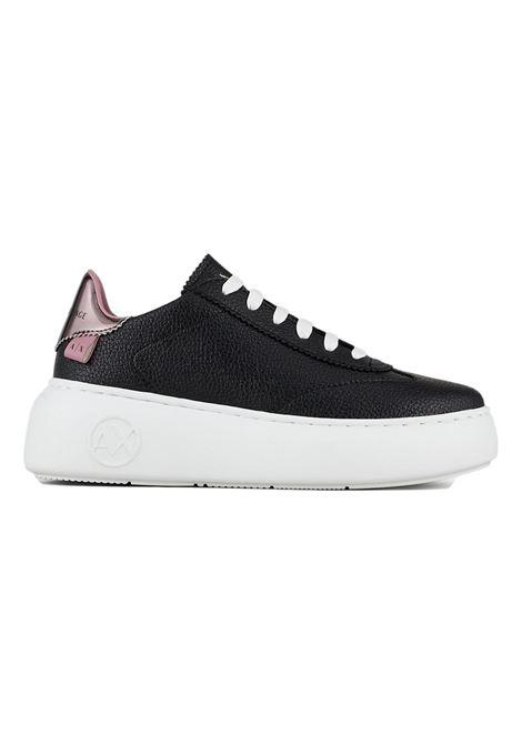Sneakers con suola logata e retro metallizzato ARMANI EXCHANGE | Sneakers | XDX042 XV338K660