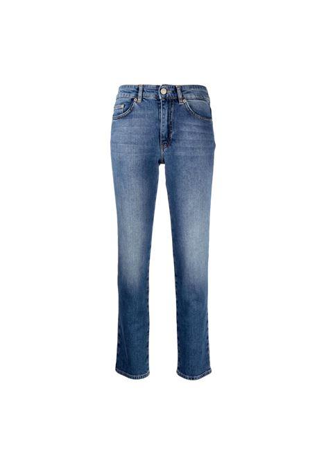 Jeans con ricamo CHIARA FERRAGNI | Pantaloni | 71CBB5R3 CDW13904