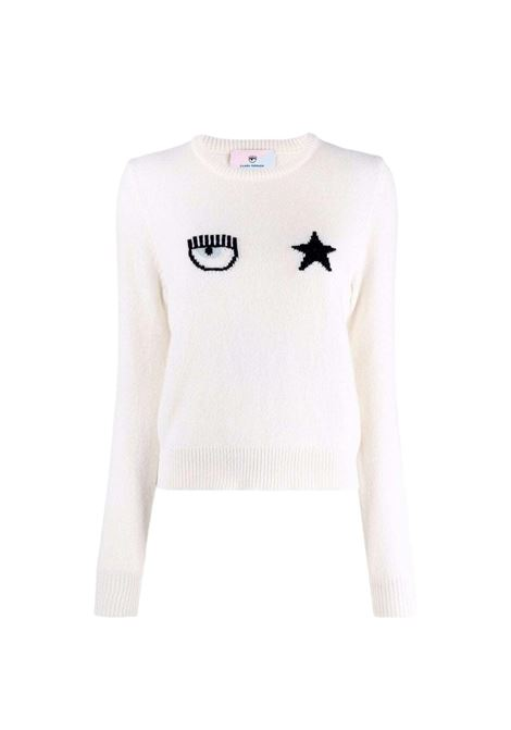 Eyestar crew neck sweater  CHIARA FERRAGNI |  | 71CBFM01 CMM00008