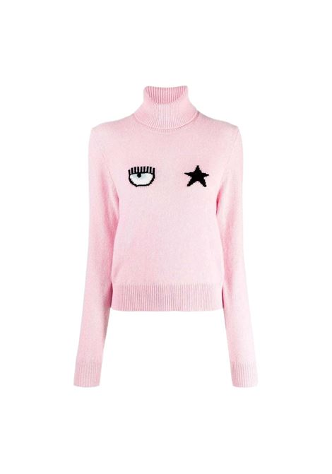 Eyestar turtleneck sweater CHIARA FERRAGNI |  | 71CBFM02 CMM00414