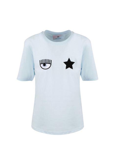 T-shirt with embroidery CHIARA FERRAGNI |  | 71CBHT01 CJC0T216
