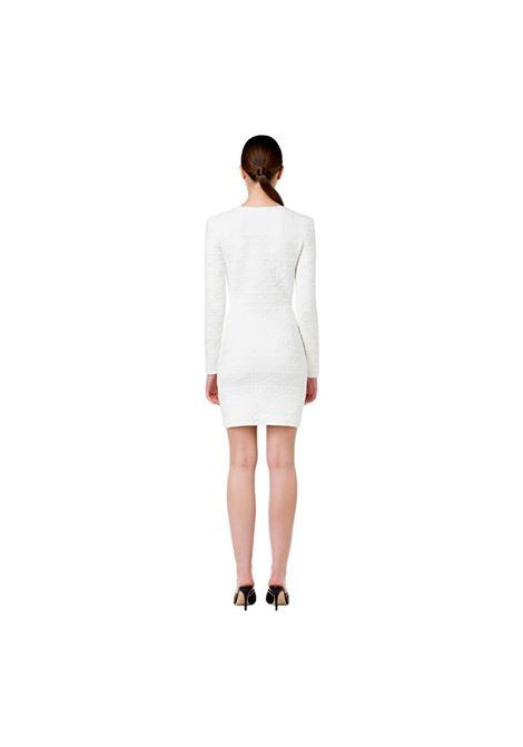 Mini abito in punto monogramma goffrato ELISABETTA FRANCHI | Abiti | AM26Q16E2360