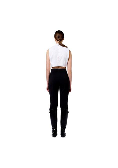 Pantalone con logo light gold ELISABETTA FRANCHI | Pantaloni | PA38616E2110