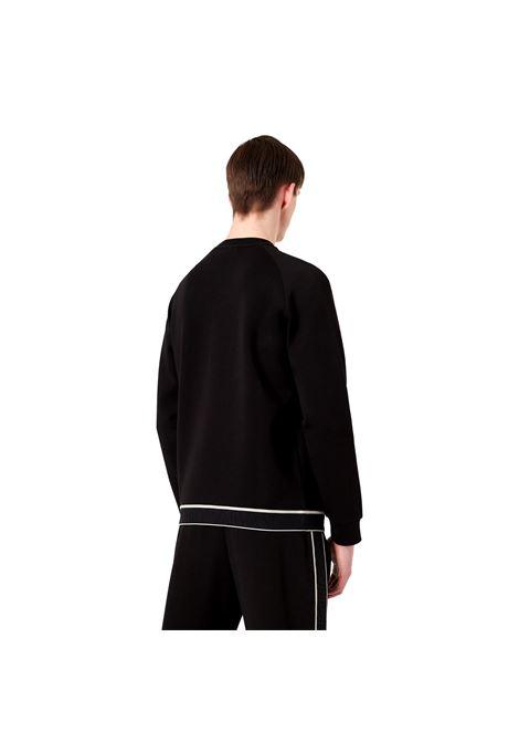 Double jersey sweatshirt with jacquard logo elastic band EMPORIO ARMANI |  | 6K1M74 1JHSZ0999