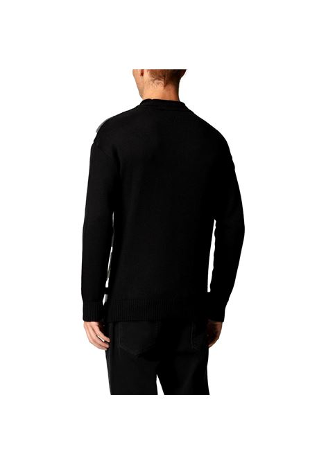 Wool blend sweater with striped detail EMPORIO ARMANI |  | 6K1MT7 1MD7Z0999