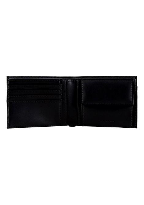 Portafoglio con placchetta aquila EMPORIO ARMANI | Portafoglio | Y4R165 YLA0E81072
