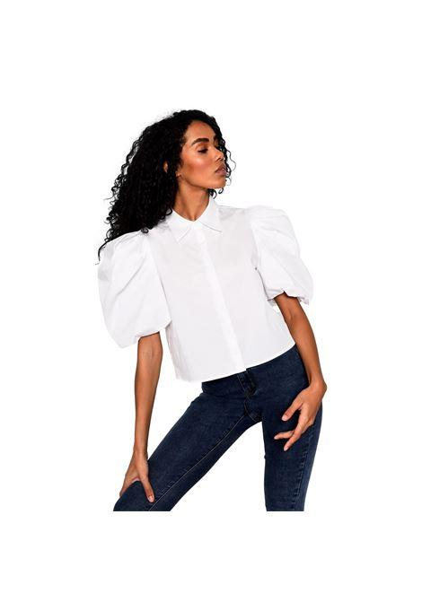 WHITE SHIRT WITH PUFF SLEEVES GLAMOROUS |  | AN4035WHITE
