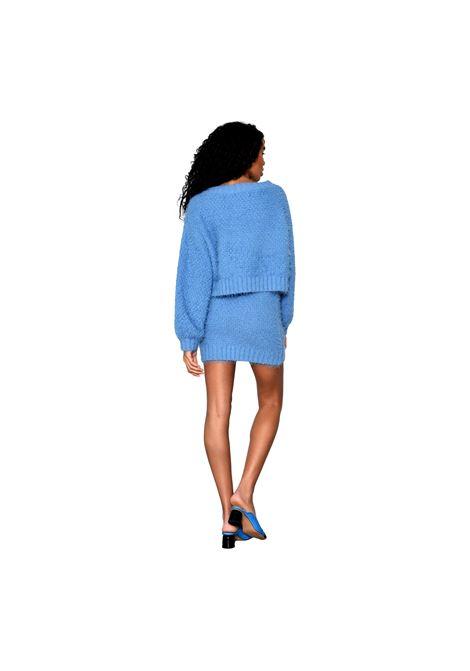 Glamorous Heritage Blue Knit Jumper GLAMOROUS |  | TM0248BLUE