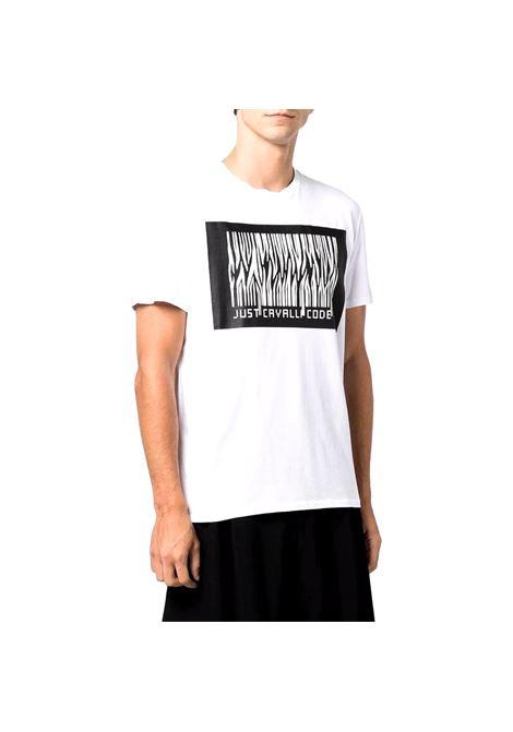T-shirt con stampa JUST CAVALLI | T-shirt | S03GC0637 N20663100