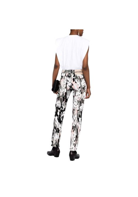 Jeans skinny con stampa JUST CAVALLI | Pantaloni | S04LA0195 N31949238S