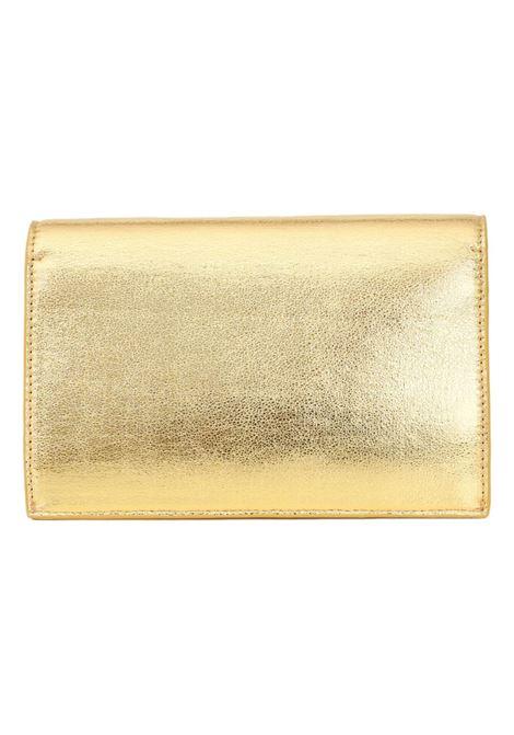 Pochette donna oro just cavalli con tracolla removibile in catena JUST CAVALLI | Borsa | S11WD0134 P0691906