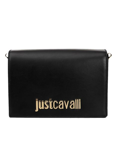 Borsa con logo oro JUST CAVALLI | Borsa | S11WG0224 PR227900