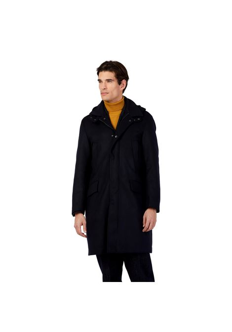 PARKA COAT WITH HOOD OUTFIT |  | OF1F2W1K012174