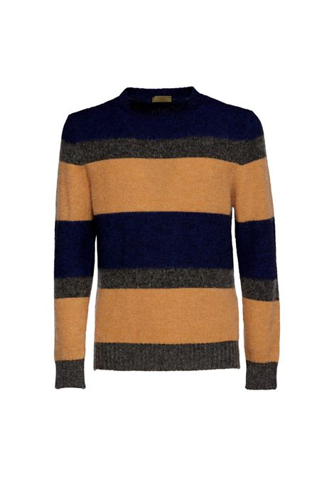STRIPED CREW NECK SWEATER IN MOHAIR BLEND OUTFIT |  | OF1F2W1M021972