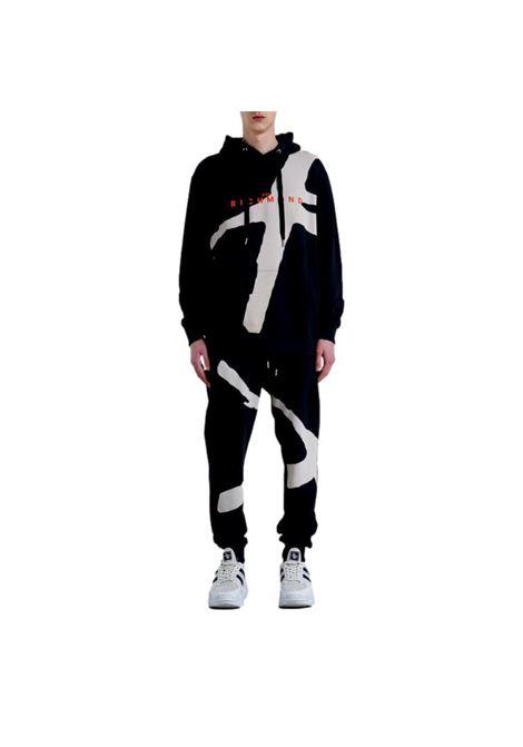 Sweatshirt with anigenix print RICHMOND JOHN |  | RMA21120FE A8BLACK