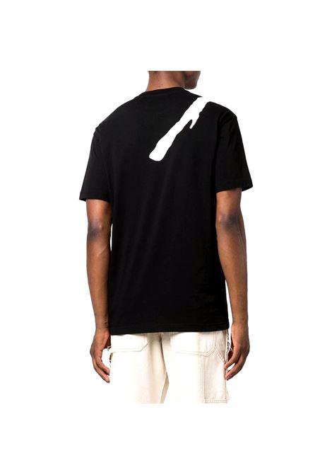 T-shirt with print RICHMOND JOHN |  | RMA21130TS A8BLACK