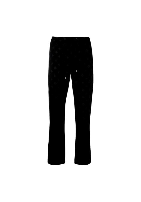 Straight trousers with all-over logo RICHMOND JOHN |  | RMA21224PA 1GBLACK