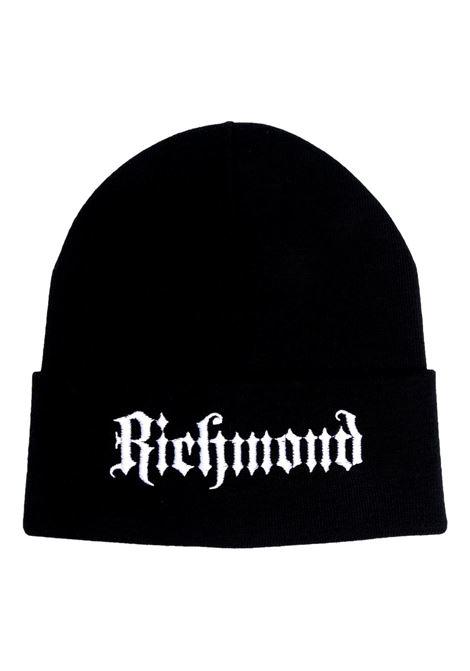 Cap with embroidery RICHMOND JOHN |  | RMA21240HA 4MBLACK