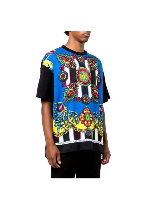 T-SHIRT WITH STAMPS VERSACE JEANS COUTURE |  | 71GAH6O8 JS026MC2