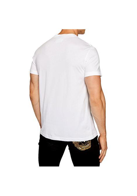 T-shirt with logo emblem VERSACE JEANS COUTURE |  | 71GAHF05 CJ00FG03