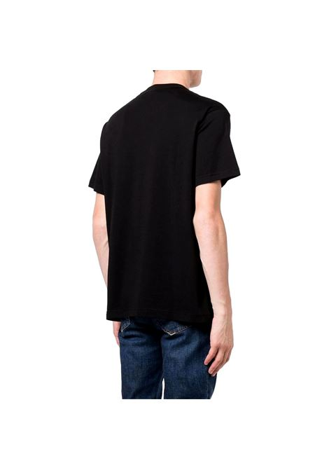 T-shirt con stampa a contrasto VERSACE JEANS COUTURE | T-shirt | 71GAHT05 CJ00T899