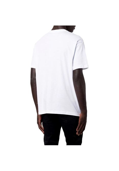 T-shirt girocollo con stampa riflettente VERSACE JEANS COUTURE | T-shirt | 71GAHT16 CJ00T003