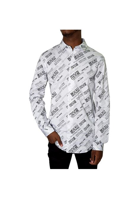ALL OVER LOGO POPLIN SHIRT VERSACE JEANS COUTURE |  | 71GAL2S2 NS004003