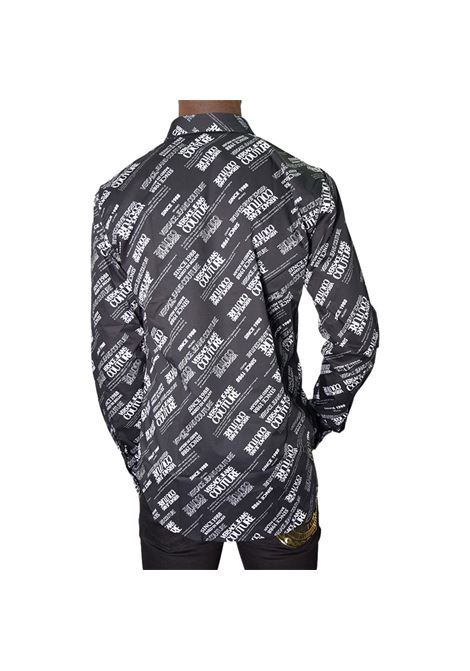 ALL OVER LOGO POPLIN SHIRT VERSACE JEANS COUTURE |  | 71GAL2S2 NS004899