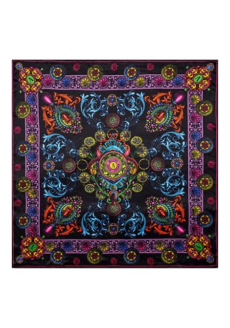 Scarf with multicolored baroque print VERSACE JEANS COUTURE |  | 71HA7H02 ZG004899