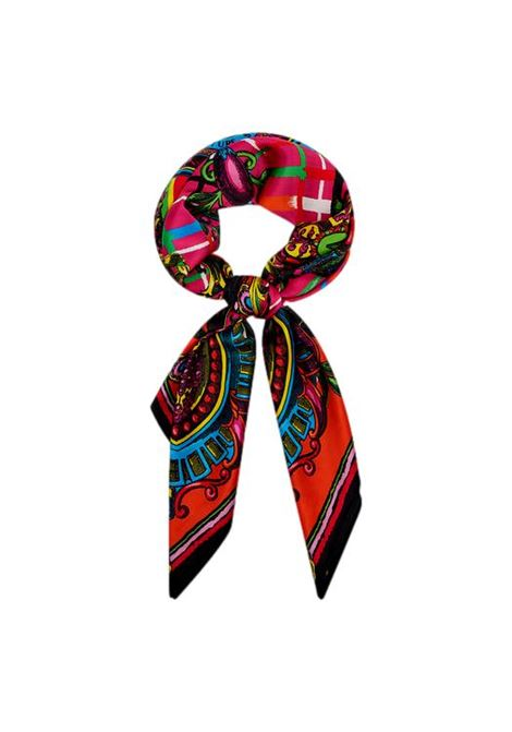 Scarf with multicolored baroque print VERSACE JEANS COUTURE |  | 71HA7H02 ZG008982