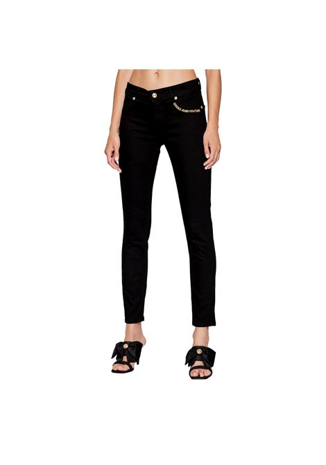 Slim jeans with gold embroidery VERSACE JEANS COUTURE |  | 71HAB5J3 CDW00909
