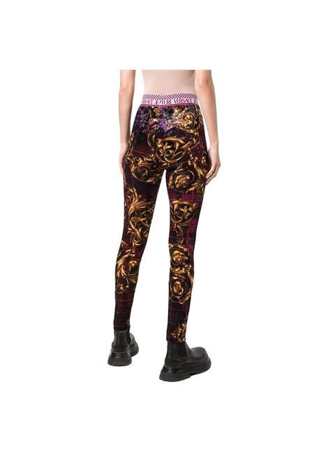 Fleece leggings with barocca prin VERSACE JEANS COUTURE |  | 71HAC101 JS023G41