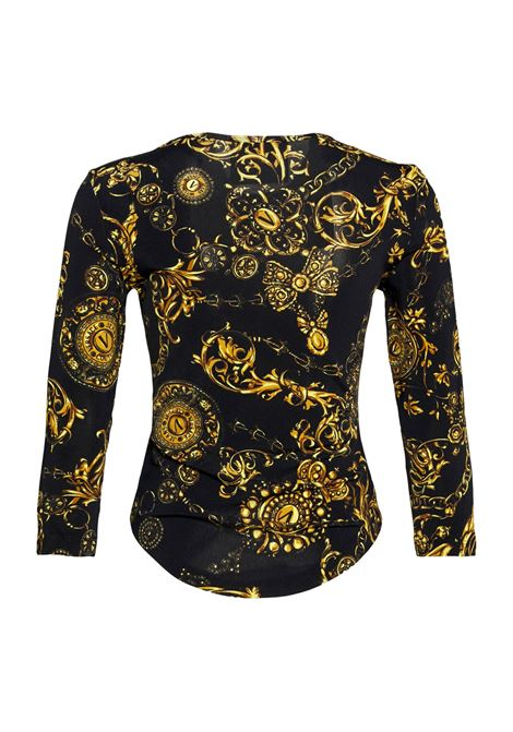 Long sleeve t-shirt with baroque pattern VERSACE JEANS COUTURE |  | 71HAH216 JS012G89