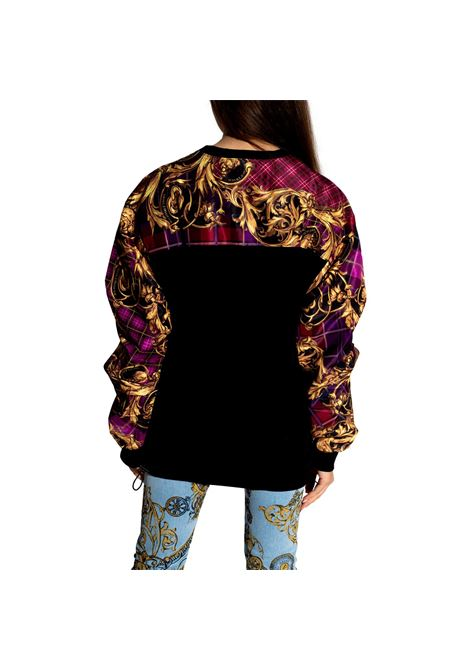 Long patterned sweatshirt on the sleeves VERSACE JEANS COUTURE |  | 71HAI301 NS026G41