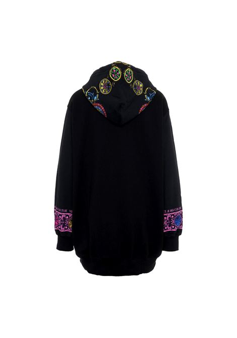 Hooded sweatshirt with baroque pattern VERSACE JEANS COUTURE |  | 71HAI3P1 FS012899