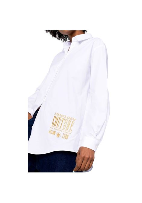 Shirt with gold embroidery VERSACE JEANS COUTURE |  | 71HAL223 N0003003