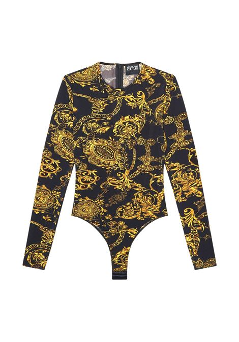 BODY WITH  REGALIA BAROQUE STAMP GOLD VERSACE JEANS COUTURE |  | 71HAM221 JS008G89