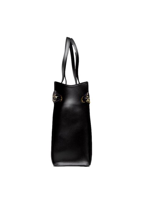 Black shoulder bag with logo and matching scarf VERSACE JEANS COUTURE |  | 71VA4BA8 ZS059899