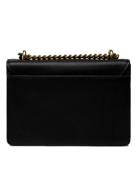 Black shoulder bag with embossed gold writing VERSACE JEANS COUTURE |  | 71VA4BL1 71879899