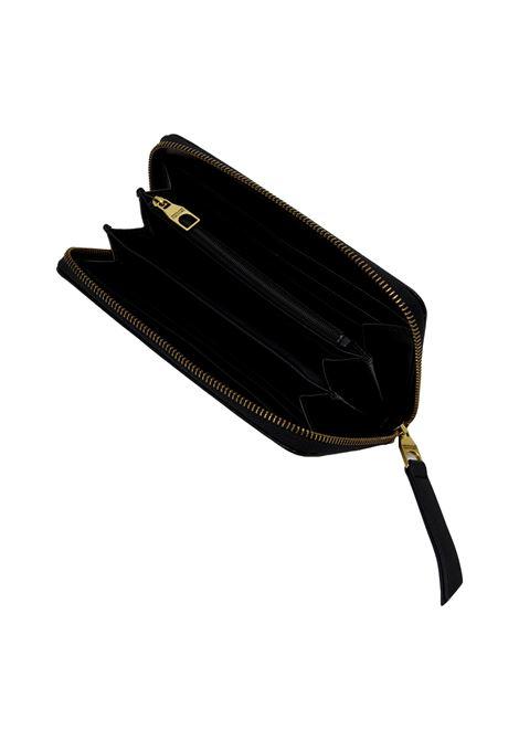 Portafoglio con placca logo oro VERSACE JEANS COUTURE | Portafogli | 71VA5PL1 71879899