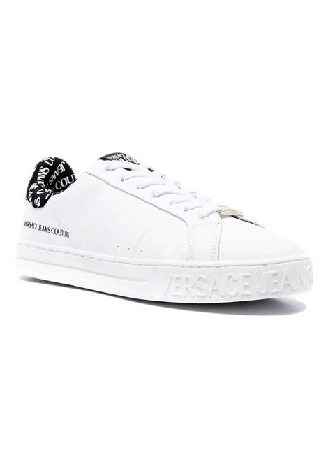 Sneakers con applicazione VERSACE JEANS COUTURE   Scarpe   71YA3SK3 ZP028L02