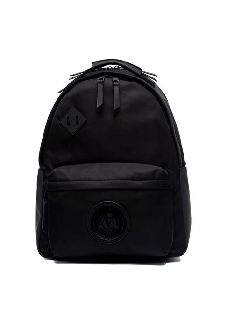 Backpack with application VERSACE JEANS COUTURE      71YA4B10 ZS102899