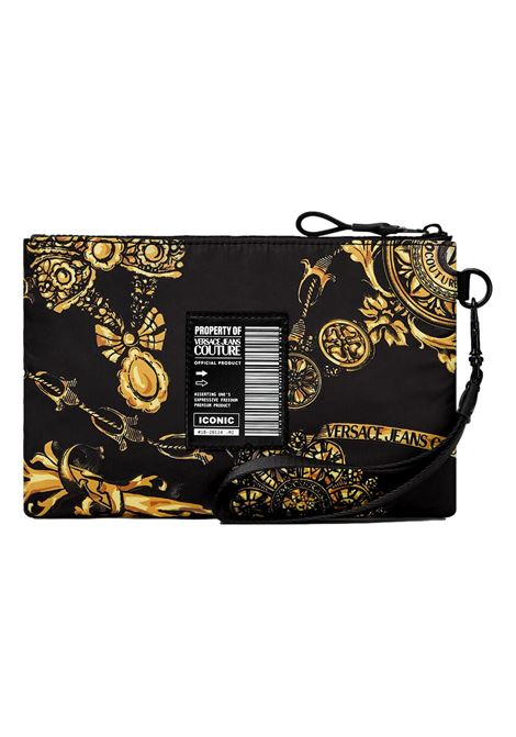 LOGOTYPE CLUTCH WITH REGALIA BAROQUE PRINT VERSACE JEANS COUTURE |  | 71YA5P90 ZS109G89