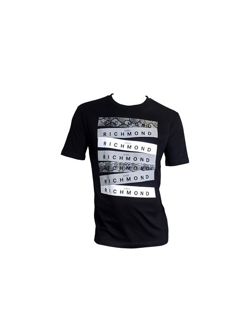 T-SHIRTOHN RICHMOND RICHMOND JOHN | T-shirt | RMP20078TSDPBLACK
