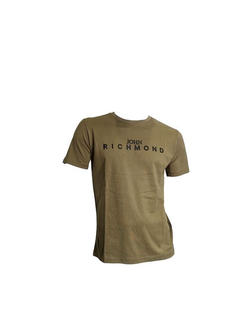 T-SHIRT JOHN RICHMOND RICHMOND JOHN | T-shirt | RMP20313TSHBKHAKI
