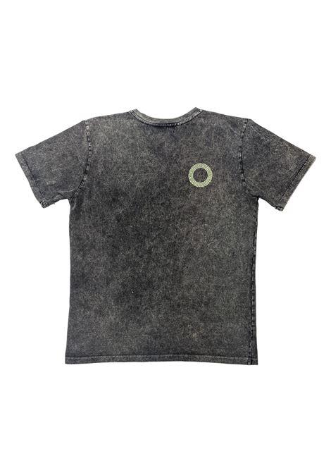 T-shirt con logo a contrasto DANILO PAURA | T-shirt | 05DP1001M0109ST02M