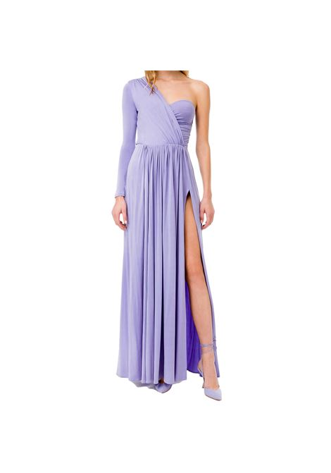 Long one-shoulder dress ELISABETTA FRANCHI |  | AB02311E2Q38